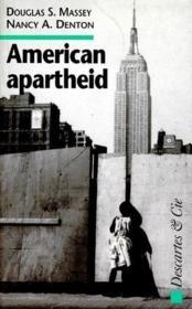 American apartheid - Couverture - Format classique