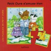Petit Ours S'Amuse Bien - Couverture - Format classique