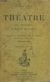Theatre. Les Revenants. La Maison De Poupee. - Couverture - Format classique
