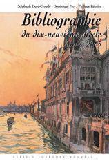 Bibliographie du XIX siècle (édition 2005) - Couverture - Format classique