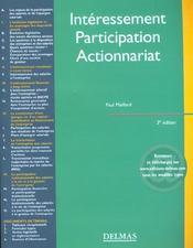 Interessement. participation. actionnariat - 3e ed. - Intérieur - Format classique