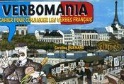 Verbomania cahier pour conjuguer les verbes francais - Intérieur - Format classique