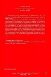 Autour Du Riz - 4ème de couverture - Format classique
