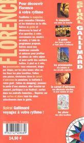 Florence - 4ème de couverture - Format classique