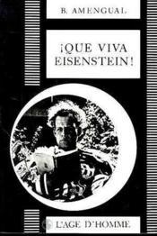 Que Viva Eisenstein! - Couverture - Format classique