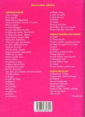 Roses et rosiers - 4ème de couverture - Format classique