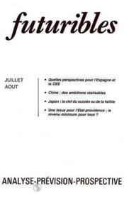 Futuribles No68 Juillet Aout 1983 - Couverture - Format classique