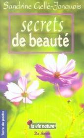 Secrets de beauté - Couverture - Format classique