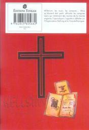 Hellsing t.5 - 4ème de couverture - Format classique