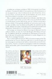 La vallee des cyclamens cahiers d'une paysanne savoyarde - 4ème de couverture - Format classique