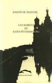 Soirees De Saint-Petersbourg (Les) - Intérieur - Format classique