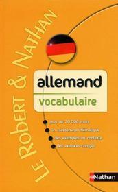 telecharger Allemand – vocabulaire livre PDF en ligne gratuit