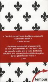 Louis XVI ; coffret - 4ème de couverture - Format classique