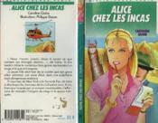 Alice Chez Les Incas - Couverture - Format classique
