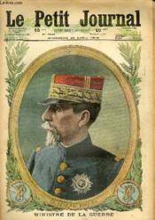 LE PETIT JOURNAL - supplément illustré numéro 1322 - LE GENEAL ROQUES, MINISTRE DE LA GUERRE - LES RUSSES A ISPAHAN - Couverture - Format classique