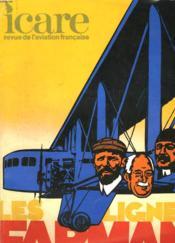 Icare N°82 - Les Lignes Farman - Couverture - Format classique