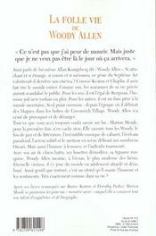 La Folle Vie De Woody Allen - 4ème de couverture - Format classique