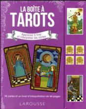 La boîte à tarots ; apprenez à tirer et interpréter les cartes - Couverture - Format classique
