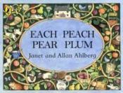 Each Peach Pear Plum - Couverture - Format classique