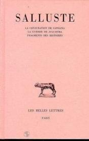 Conjuration De Catilina (La) - Couverture - Format classique