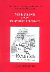 Melusine 25 L'Universel Reportage - Intérieur - Format classique