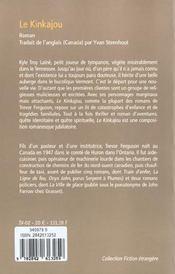 Le Kinkajou - 4ème de couverture - Format classique