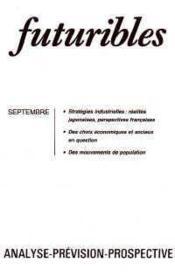 Futuribles No69 Septembre 1983 - Couverture - Format classique