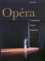 Opéra - Intérieur - Format classique