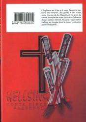 Hellsing t.6 - 4ème de couverture - Format classique
