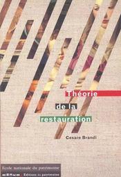 Theorie de la restauration - Intérieur - Format classique