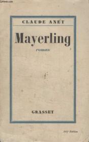 Mayerling. - Couverture - Format classique