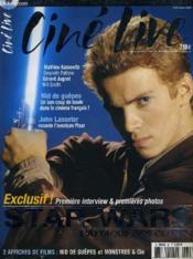 CINE LIVE - N° 55 - Exclusif: première interview et premières photos: Star Wars, m'attaque des clones - Couverture - Format classique