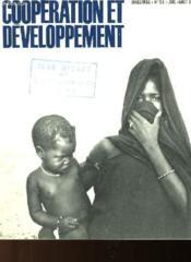 Cooperation Et Developpement N°26 - Couverture - Format classique