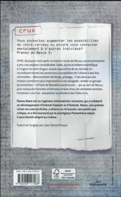 Crux - 4ème de couverture - Format classique