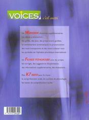 Voices 2e ; Edition 2001 - 4ème de couverture - Format classique
