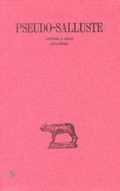 Lettres à César ; invectives - Couverture - Format classique