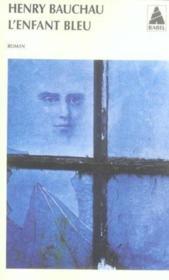 L'enfant bleu - Couverture - Format classique