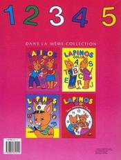Lapinos Color ; 123 - 4ème de couverture - Format classique