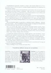 La france protestante - 4ème de couverture - Format classique