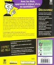 Astrologie Pour Les Nuls - 4ème de couverture - Format classique