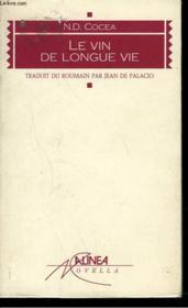Vin De Longue Vie - Couverture - Format classique