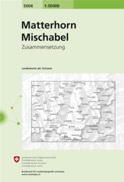 Matterhorn-Mischabel - Couverture - Format classique