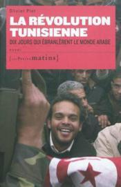 La révolution tunisienne - Couverture - Format classique