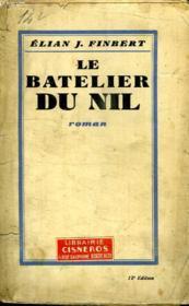 Le Batelier Du Nil. - Couverture - Format classique