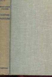 Secretaire Particuliere - Couverture - Format classique