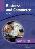 Workshop: business and commerce - Couverture - Format classique