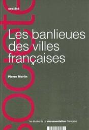 Les banlieues des villes francaises - Intérieur - Format classique