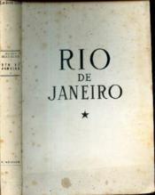 Rio De Janeiro. Tome 1. - Couverture - Format classique