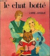 Livre disque 45t // Le chat botté - Couverture - Format classique