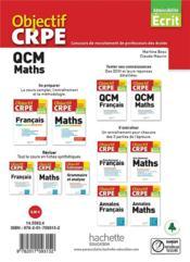 Objectif CRPE ; QCM maths (édition 2021) - 4ème de couverture - Format classique